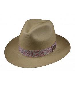 Classic Panama Hat Liberty Band