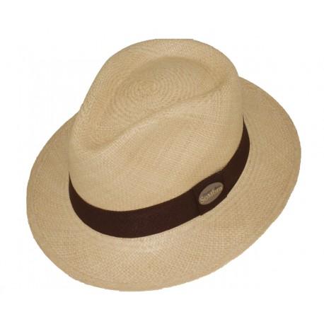 Sombrero Panama Copa Aguacate Beige 154f2c3fd953
