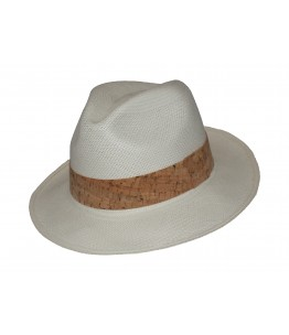 Classic Panama Hat Cork Band